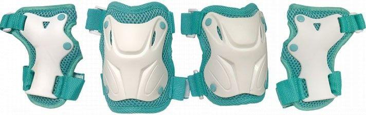 Комплект защиты TechTeam Safety Line 800 Бело-Бирюзовый
