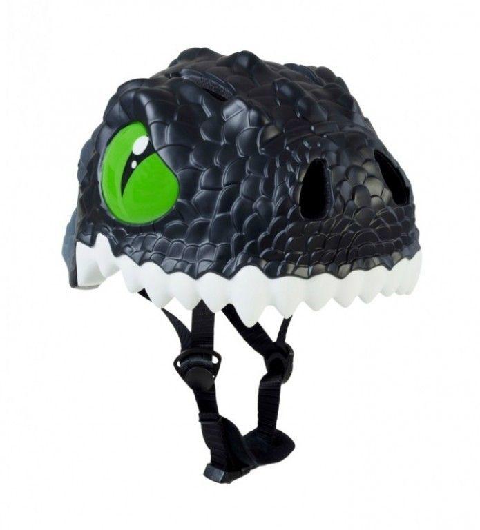 Шлем Crazy Safety Black Dragon новая коллекция 2018 (чёрный дракон)