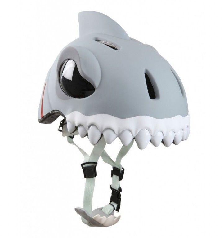 ШЛЕМ Crazy Safety Shark (Белая Акула)