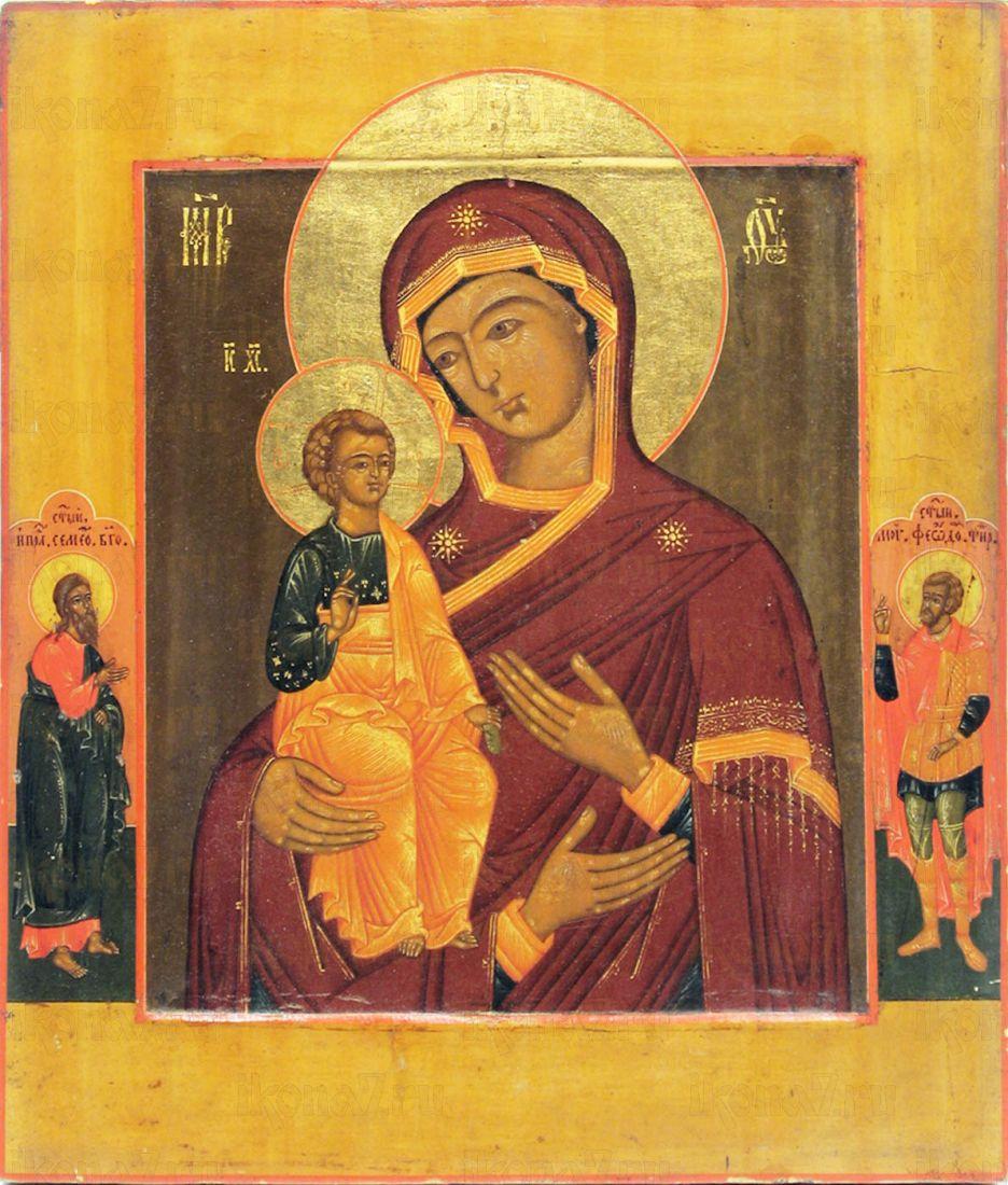 Икона Троеручица