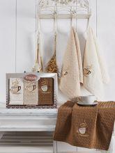 Комплект вафельных полотенец SALVA (45*65)*3  Арт.3476-3