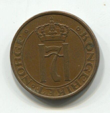 2 эре 1937 года Норвегия