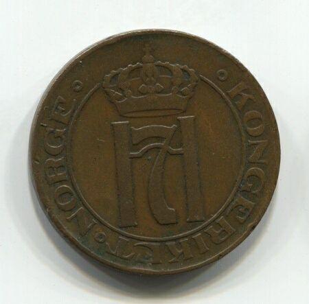 5 эре 1922 года Норвегия