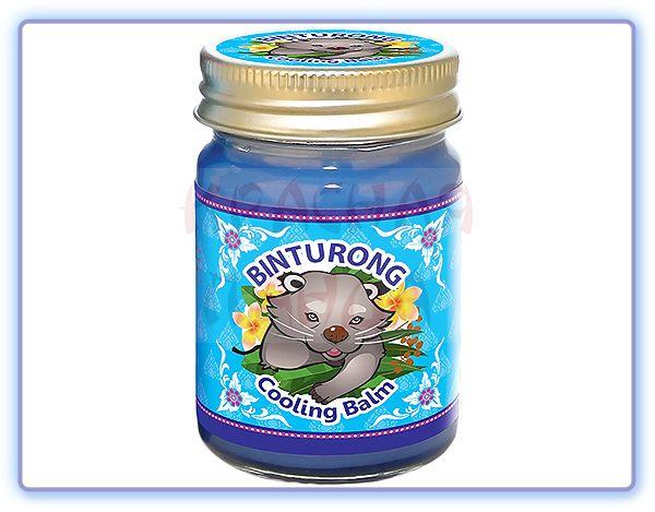 Синий охлаждающий бальзам с эвкалиптом Cooling Bam Binturong