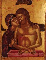 Икона Не Рыдай Мене, Мати (16 век)