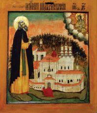 Икона Нил Столобенский (17 век)
