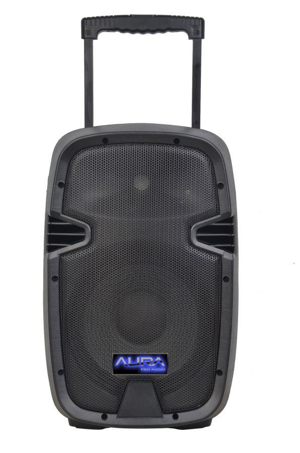 AURA A210MP3 Battery Активная акустическая система 80Вт с радиомикрофоном