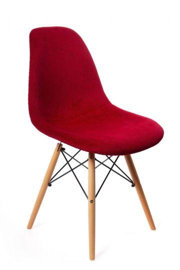 Стул Eames DSW textile красный