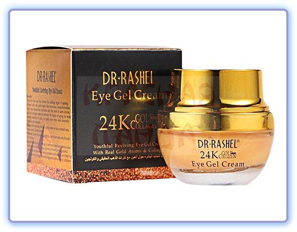 Крем-гель для кожи вокруг глаз Dr Rashel 24K Gold Collagen Eye Gel Cream