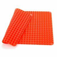 Силиконовый коврик Pyramid Pan (цвет оранжевый)_3