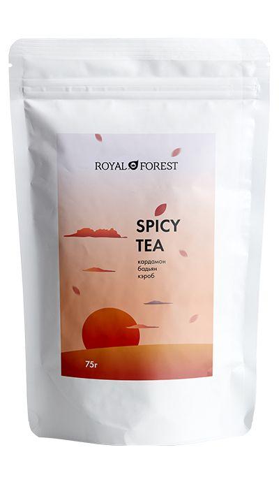 Чай масала со специями, 75г Royal Forest