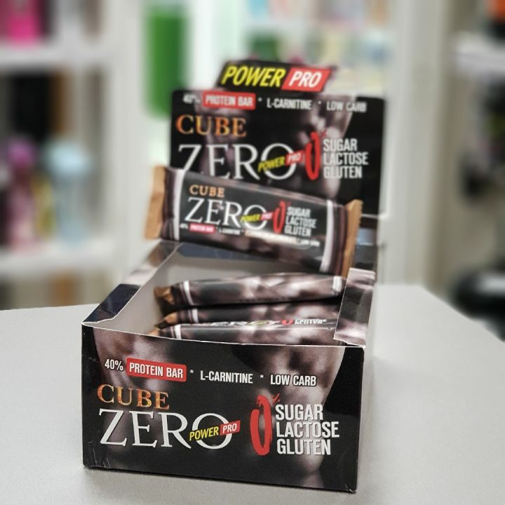 Power Pro - Zero Protein Bar Cube (60 г)