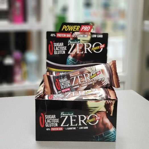 Power Pro - Zero Protein Bar Femine (60 г)
