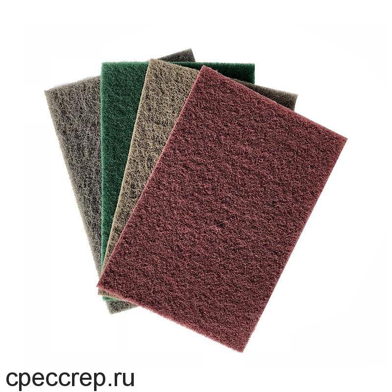 Нетканый абразивный материал 152х229мм MICRO FINE, светло-серый