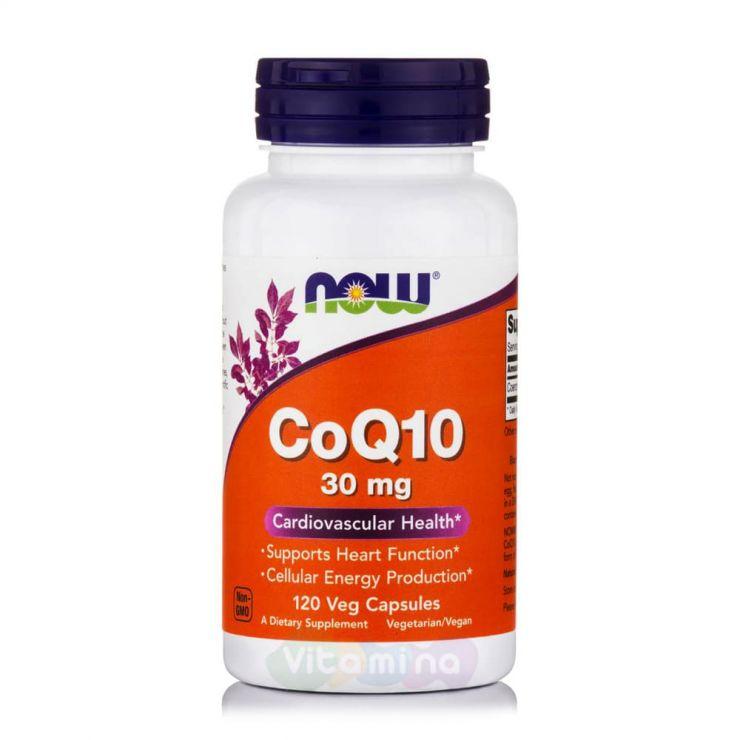 Now Foods Коэнзим Q10 30mg 120 капс.