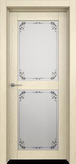 Межкомнатная дверь L 4 стекло Фрезия