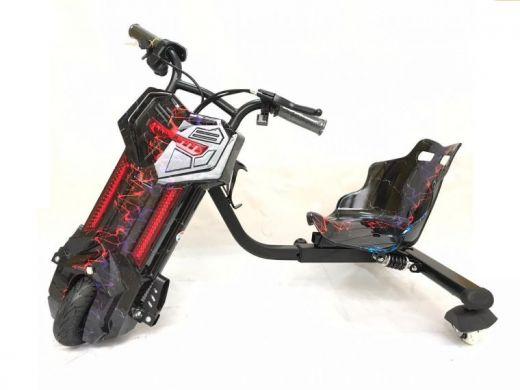 Электроскутер Дрифт Карт Drift-Trike Молния цветная