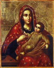 Икона Козельщанская Божия Матерь