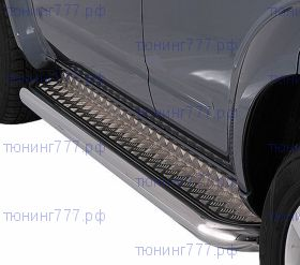 Подножки боковые, ТТ, сталь ф 76мм., для DCab с 2014-