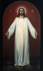 Икона Спас в белом хитоне