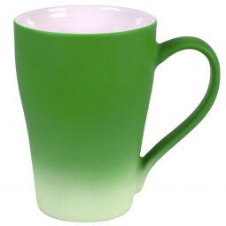 зеленые кружки с прорезиненным покрытием