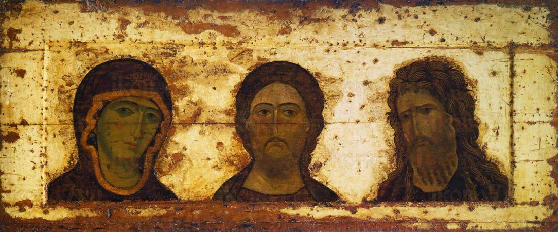 Икона Деисусный Чин (Триптих)