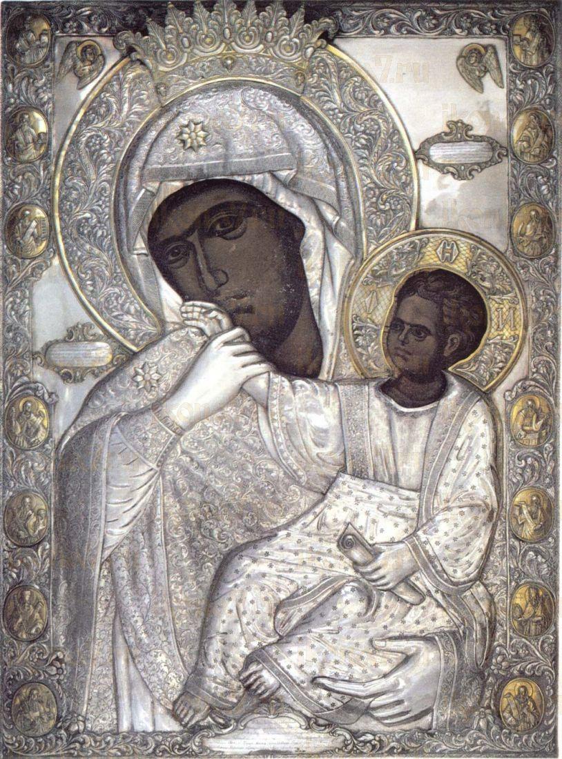 Икона Ватопедская Божия Матерь (Отрада и Утешение)