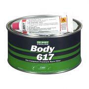 """HB Body Шпатлевка PROLINE 617 NANO FIBER POLYESTER FILLER с укороченным стекловолокном, название цвета """"Зеленый"""", объем 1,8кг."""