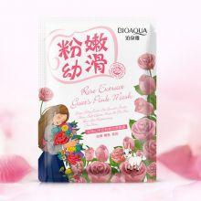 Отбеливающая маска с козьим молоком и экстрактом из розы Natural Extract BQY7441, 30гр