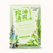 Освежающая маска с маслом чайного дерева Natural Extract BQY2958, 30 гр