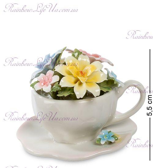 """Фигурка чаша Весенние цветы """"Pavone"""""""