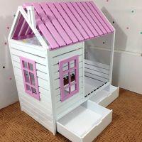 Кровать Домик Simple Lux №36C