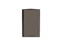 Шкаф верхний торцевой Терра ВТ230 (Смоки софт)