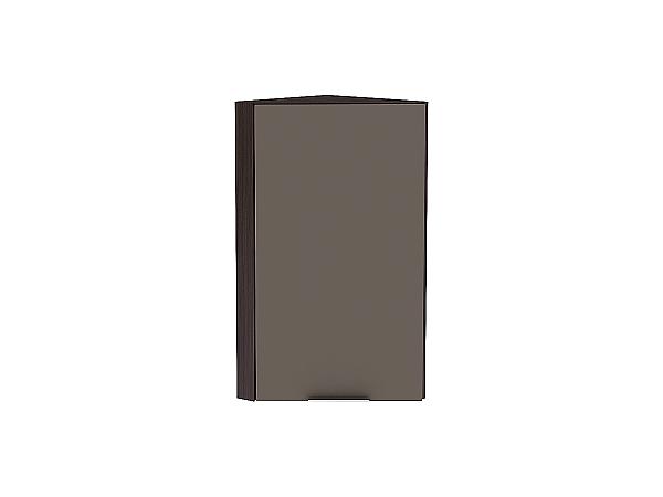 Шкаф верхний торцевой Терра ВТ230Н (Смоки софт)