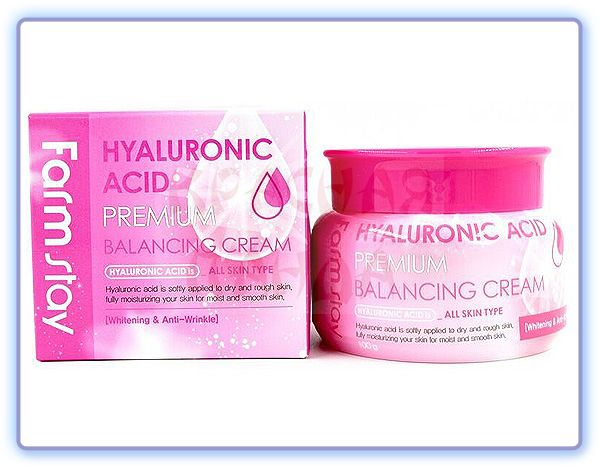 Балансирующий крем FarmStay Hyaluronic Acid Premium Balancing Cream