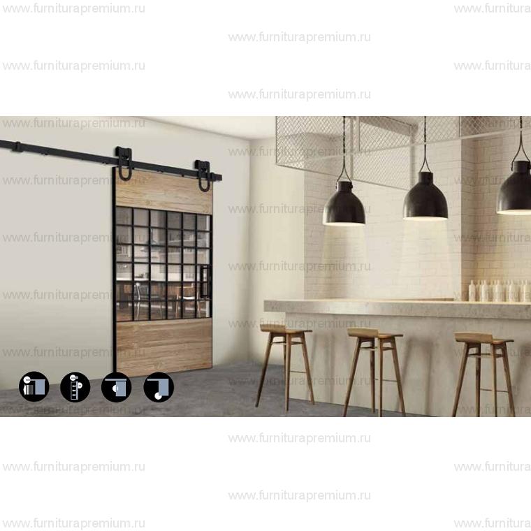Комплект фурнитуры Roc Design MAGNI на 1 дверь без направляющей