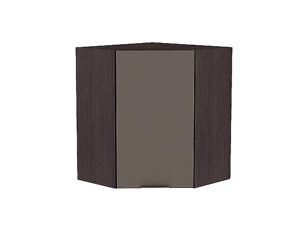Шкаф верхний угловой Терра ВУ599 (Смоки софт)