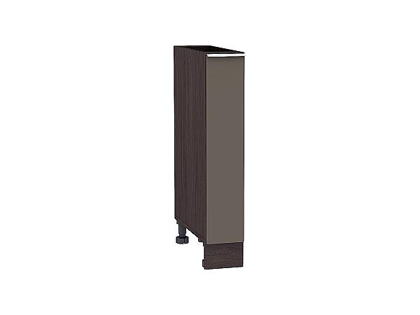 Шкаф нижний бутылочница Терра НБ200 (Смоки софт)