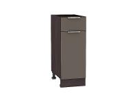 Шкаф нижний 1 ящиком и дверцей Терра Н301 (Смоки софт)