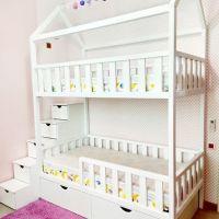 Кровать двухъярусная Домик Standard №23