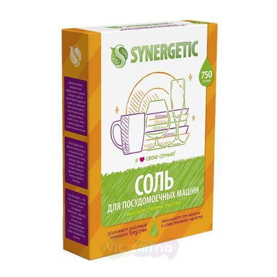 SYNERGETIC Соль для очистки посудомоечных машин, 750 г