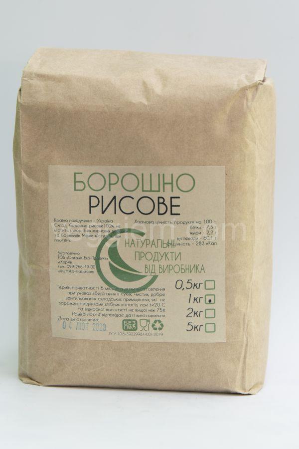 """Мука рисовая """"Органик Эко Продукт"""",1000 грамм"""