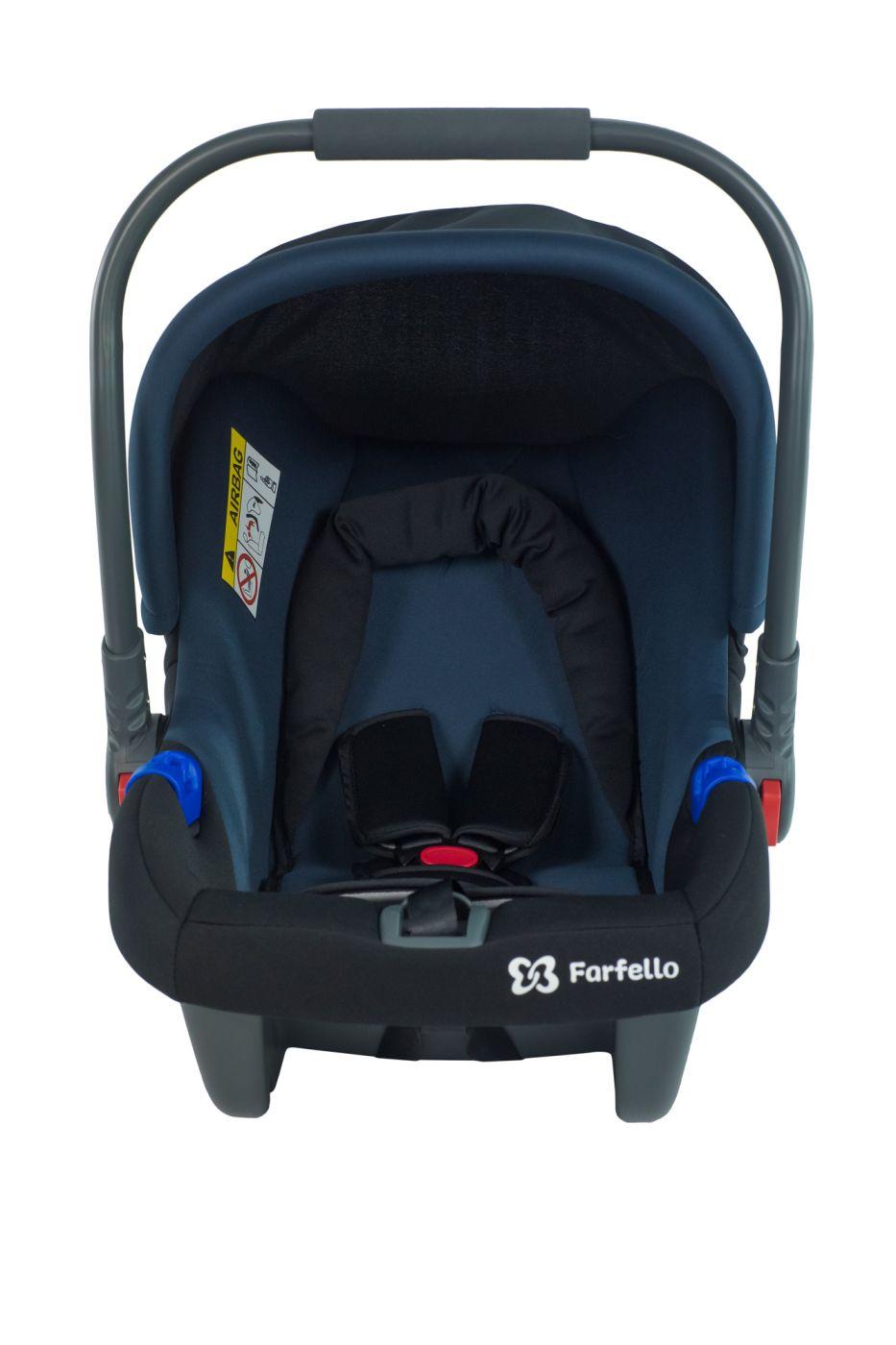 Автокресло детское к коляске Aimile KS-2150/a сине-чёрный / blue, KS-2150/abl