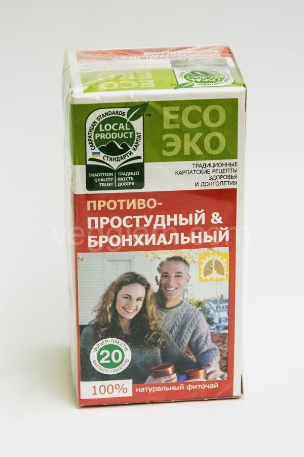 """Чай при простуде и бронхите """"Чистая Флора"""",30 грамм"""