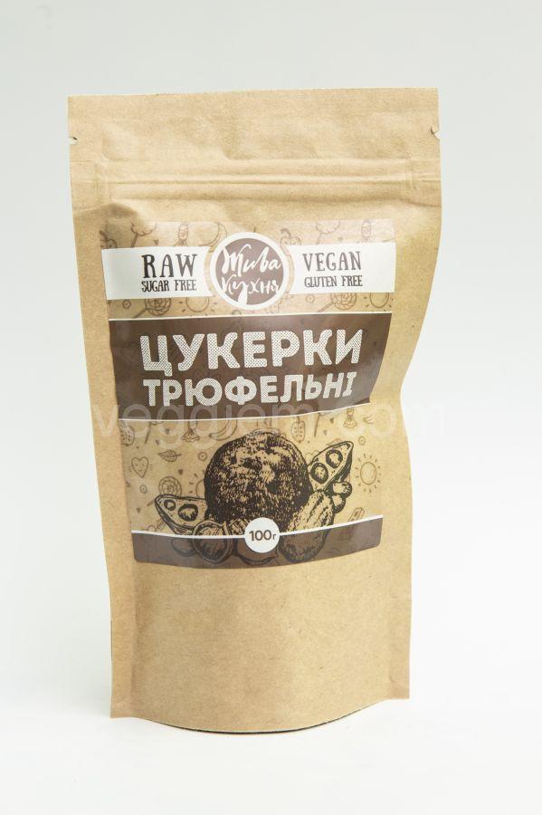 """Конфеты трюфель """"Живая Кухня"""",100 грамм"""