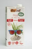 Рисовое молоко без сахара  Ecomil ,1литр