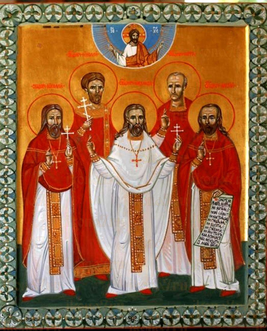 Икона Николай Георгиевский священномученик