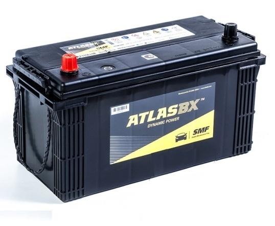 Автомобильный аккумулятор АКБ ATLAS (Атлас) MF115E41R 110 Ач п.п.