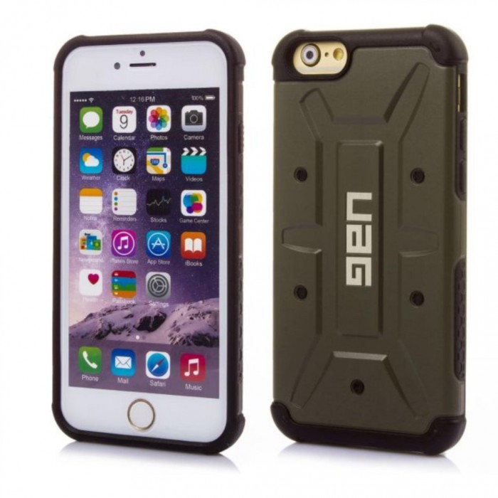 UAG COMPOSITE CASE ДЛЯ IPHONE 5/5s/se (Green)