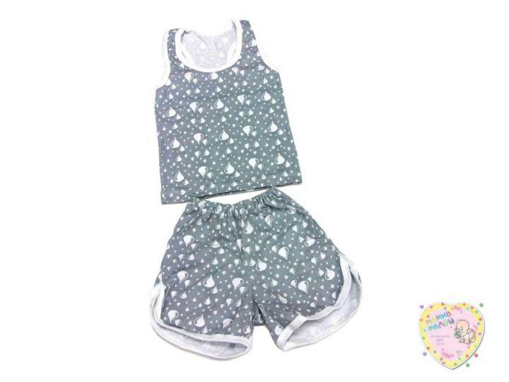 Комплект: борцовка, шорты C-KM049-SU (капелька) Мамин Малыш